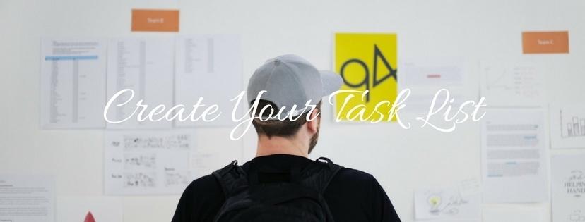 Create Your Task List